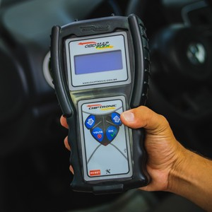Scanner para codificar chaves automotivas